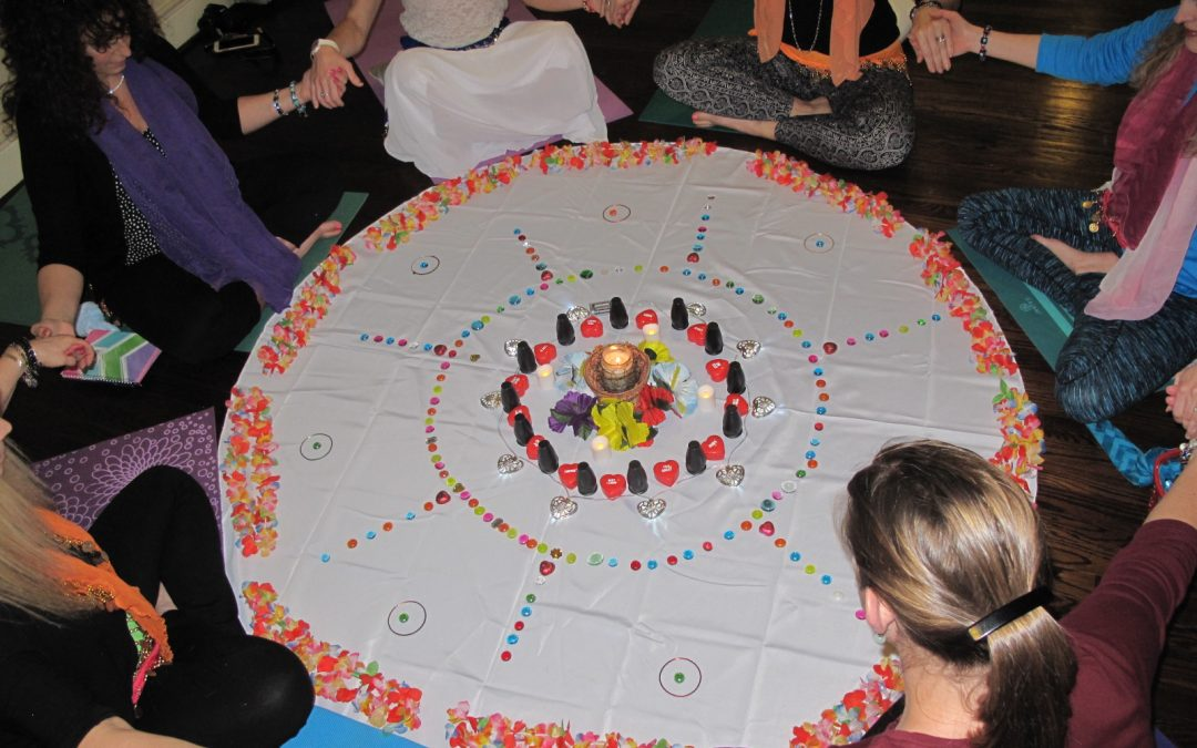 Soul Sisterhood Circle Mandala